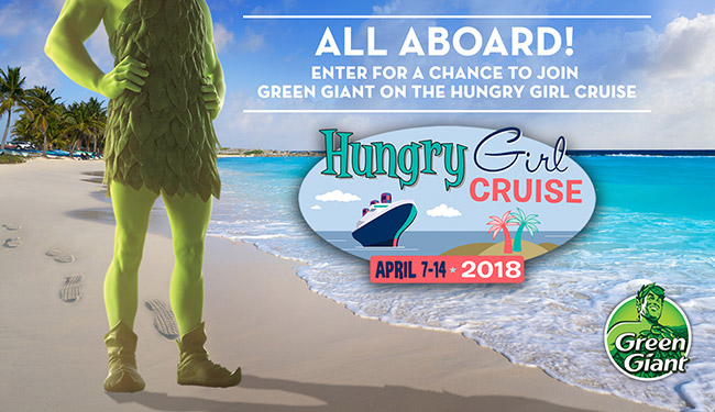 Green Giant Hungry Girl Cruise